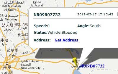 GPS Tracker in Egypt