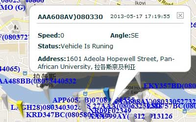 GPS Tracker in Nigeria