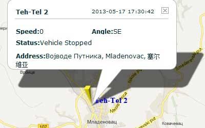 GPS Tracker in Serbia