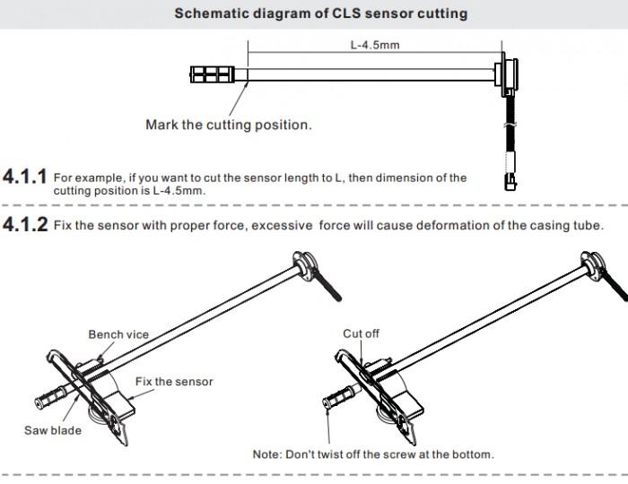Capacitive Fuel Sensor diagram 1