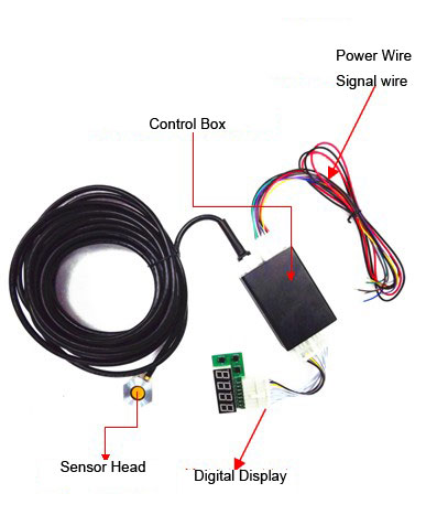 ultrasonic fuel sensor connection