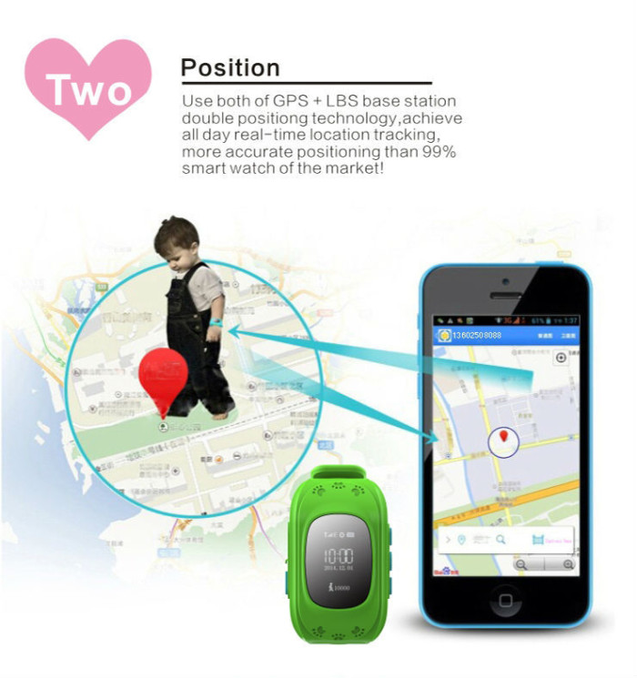 gps watch tracker