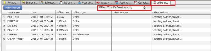 gps tracking software offline manage