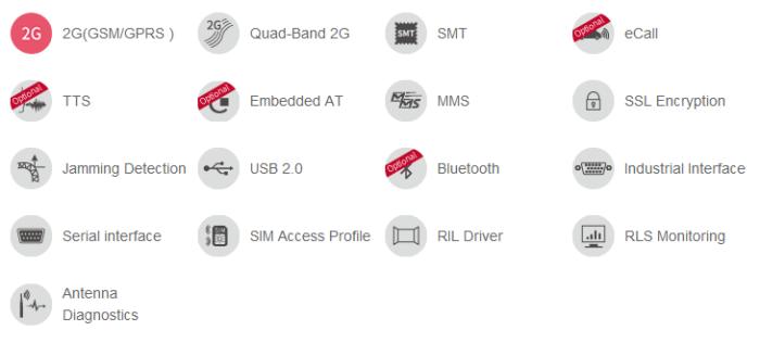 2G GSM module