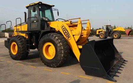 Heavy equipment tracking