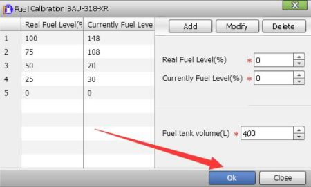vehicle fuel monitoring