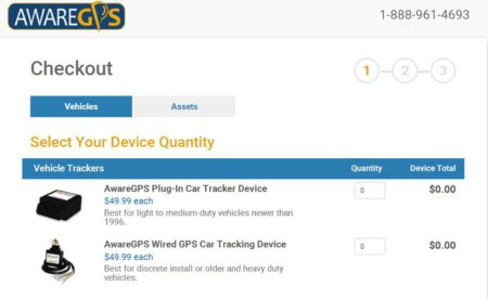 gps tracking device cost