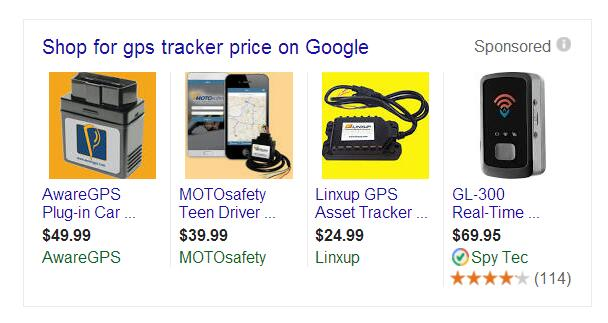 gps trackers price