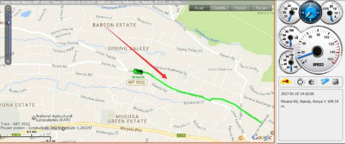gps tracking device for kenya