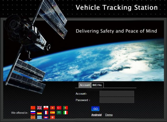 tkstar gps tracker login